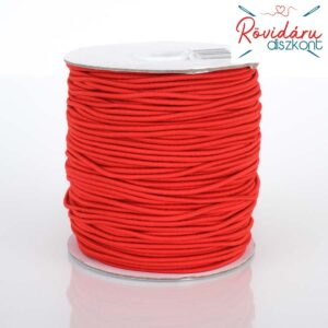 Gömbölyű gumi 2 mm 100 méter piros