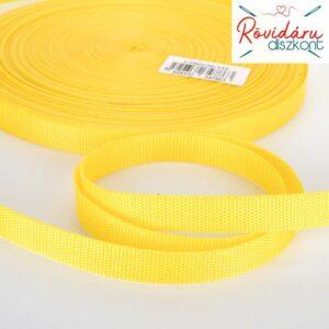 Sávolyheveder (gurtni) sárga 20 mm 50 méter